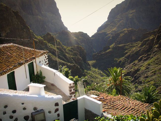 Mountain Architecture Built Structure Building Exterior House Mountain Range Residential Structure Residential Building Tenerife Island Tenerife Teneriffa Cable Tree Roof Scenics Mountain Village Day Town Valley Nature Tranquility Tranquil Scene