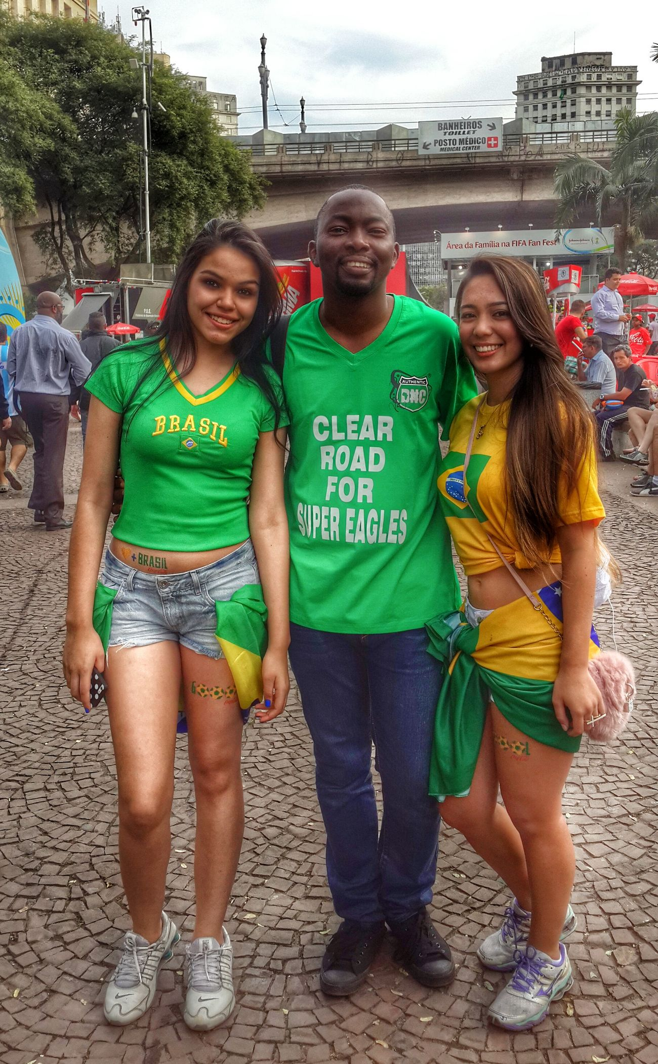 Lovely people here. We Are Onefootball Nigerians Argentina Brazil 2014 Worldcup2014