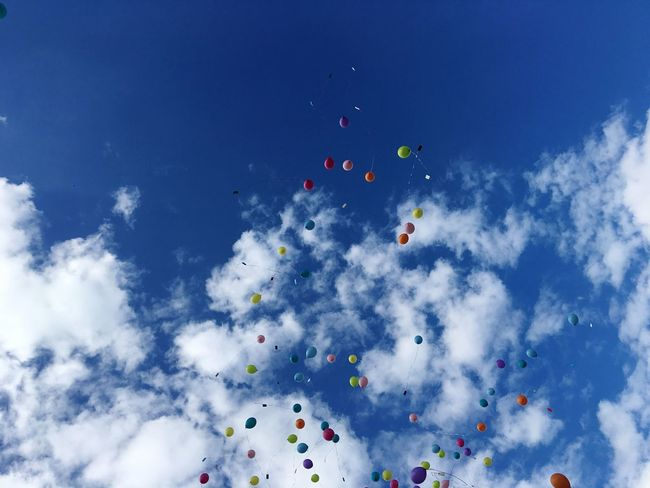Balloons Up In The Air