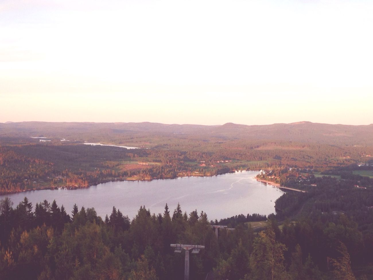 Orsjön from Åsberget Mountain View EyeEm Nature Lover Nature_collection Trees