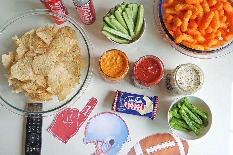 Visual Feast Food And Drink Indoors  Food Superbowl Super Bowl Close-up