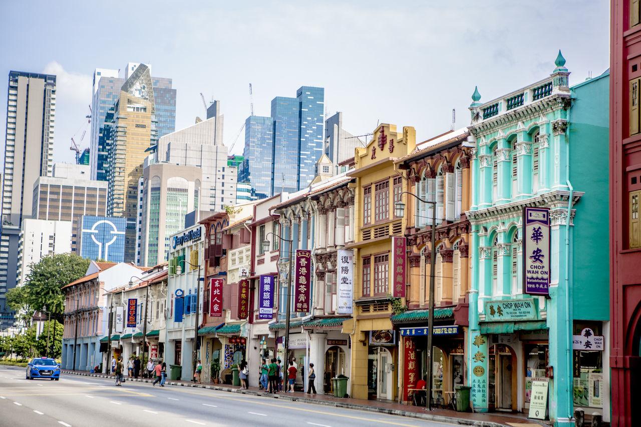 #building #market #Singapore #singaporechinatown #streetmarket #streetphotography #sunset #sun #clouds #skylovers #sky #nature #beautifulinnature #naturalbeauty #photography #landscape #historical