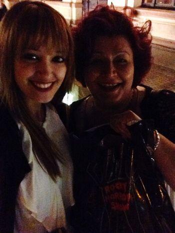 Mit Mama Abend Genießen Musical Theater  Richard O'Briens Rocky Horror Show Gleich Nochmal Rein! Happy Smile Worldsbestestmom With My Mommy❤ Lovehersomuch