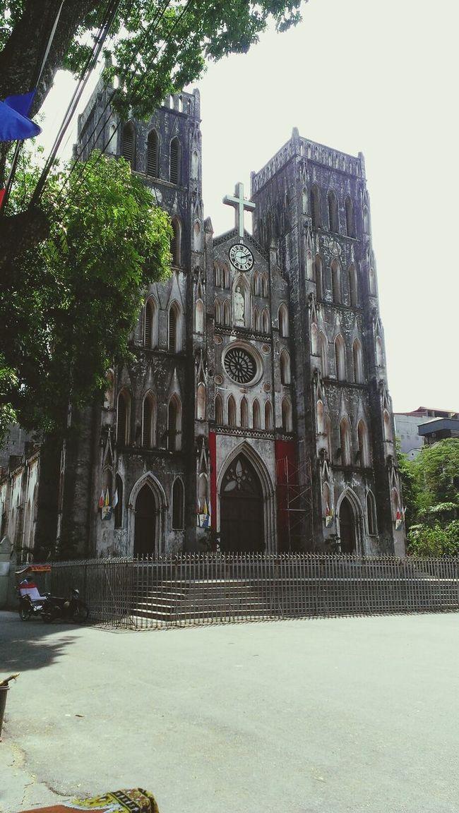 beautiful gothic style church..