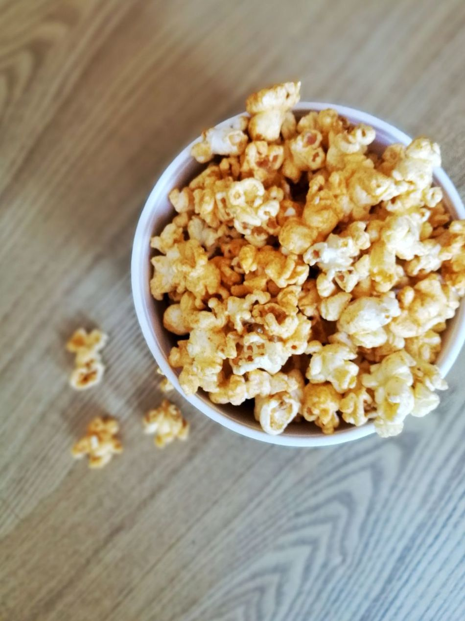 Food And Drink Food Healthy Eating High Angle View Indoors  Breakfast Homemade No People Dried Fruit Close-up Freshness Ready-to-eat Comfort Food Day Popcorn😍 Popcorn🌽👌 PopcornTime Popcorns