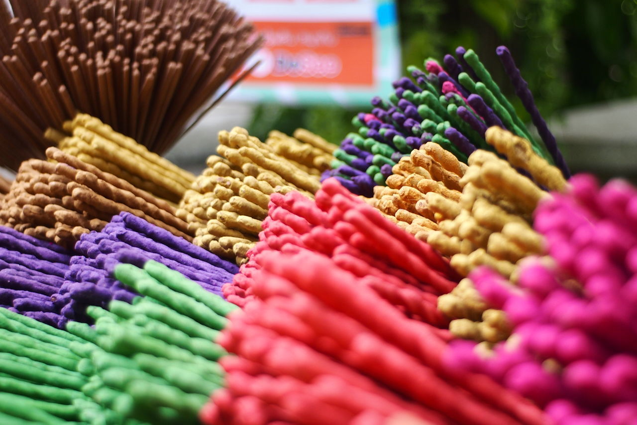 Abundance Choice Close-up Colorful Day Incense Incense Sticks Incensestick Market No People Variation