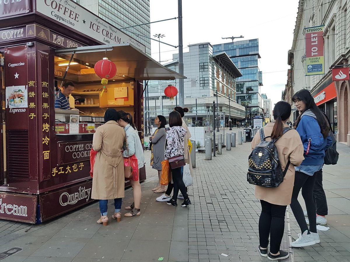 Jiang Bing Crepe Chinese Street Food Beijing Food