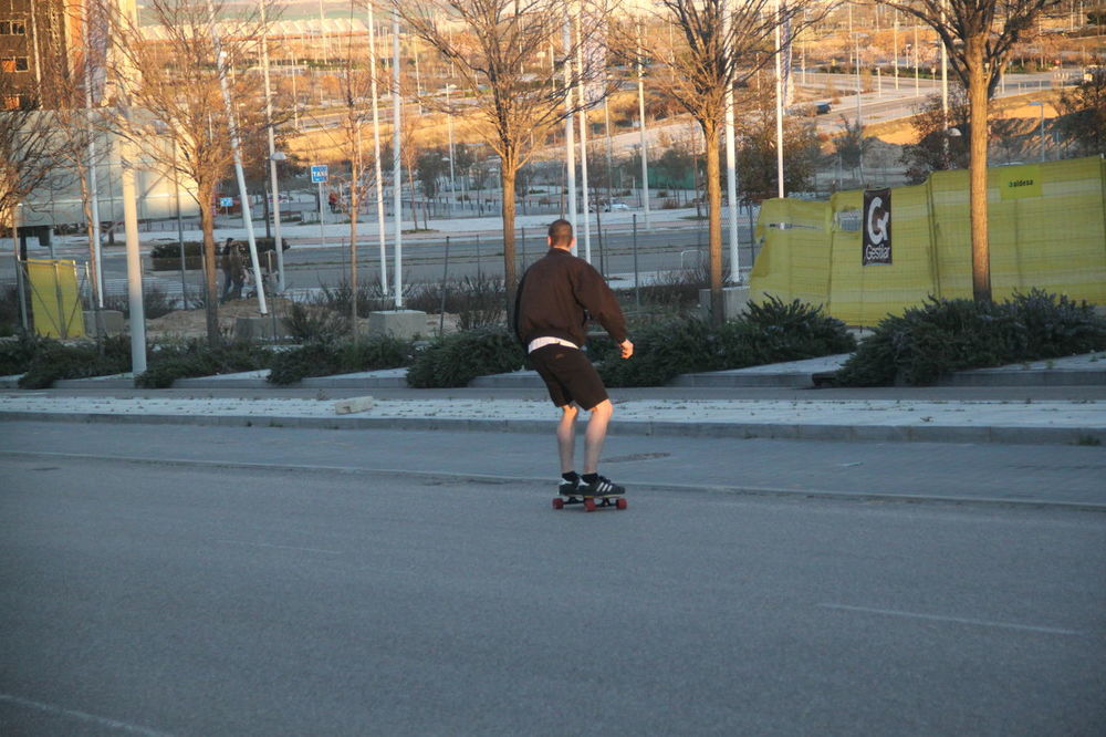 Day Lifestyle Longboarding Moving Forward  Outdoors Road Skateboarding Sports