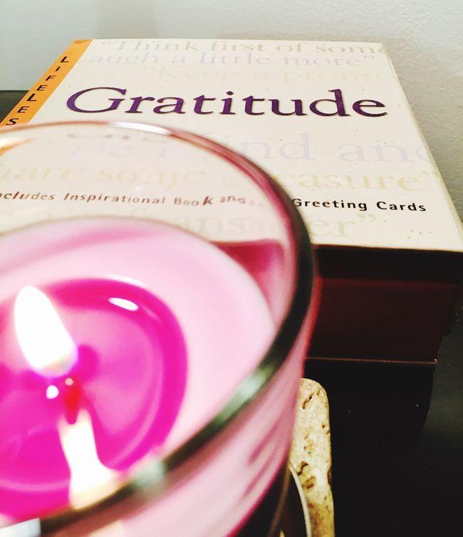 Candle Flame Gratitude Grateful Candle