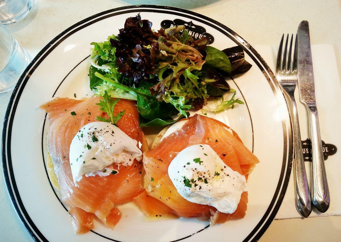 Salmon X) The Breakfast Club Food