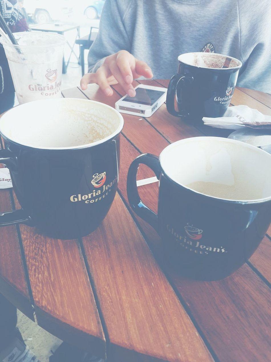 Gloria Jean's Coffee Friends Happy :) First Eyeem Photo