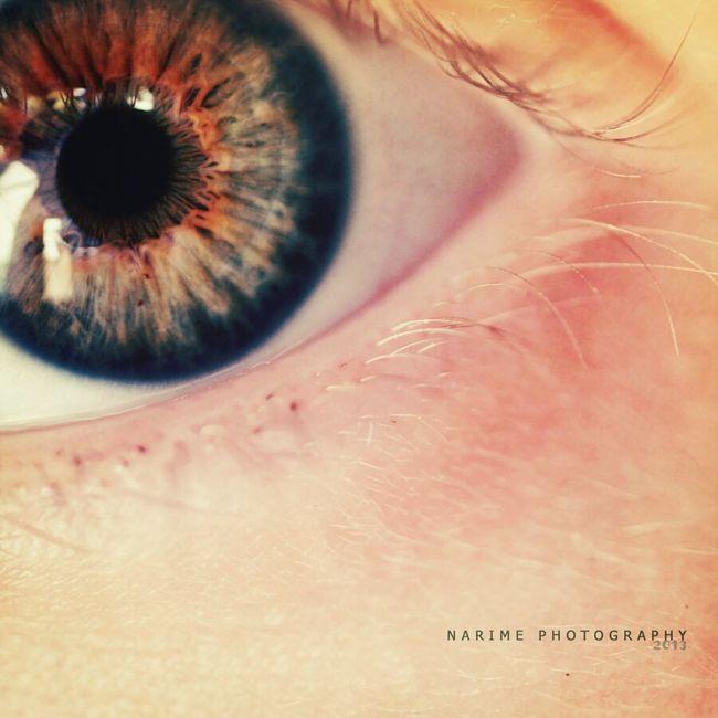 Eye Macro Wintage Narime