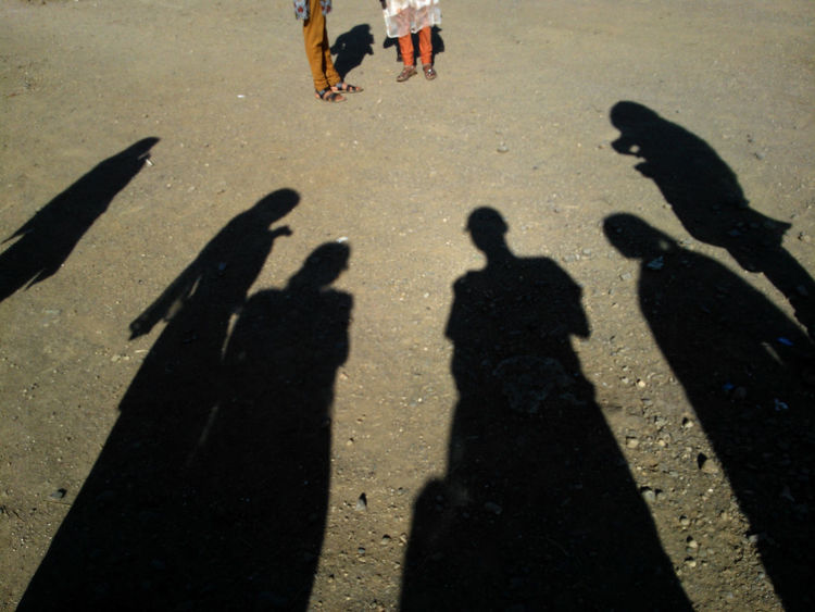 Day Focus On Shadow Friendship Outdoors Outline Prespective Shadow Sunlight Unrecognizable Person