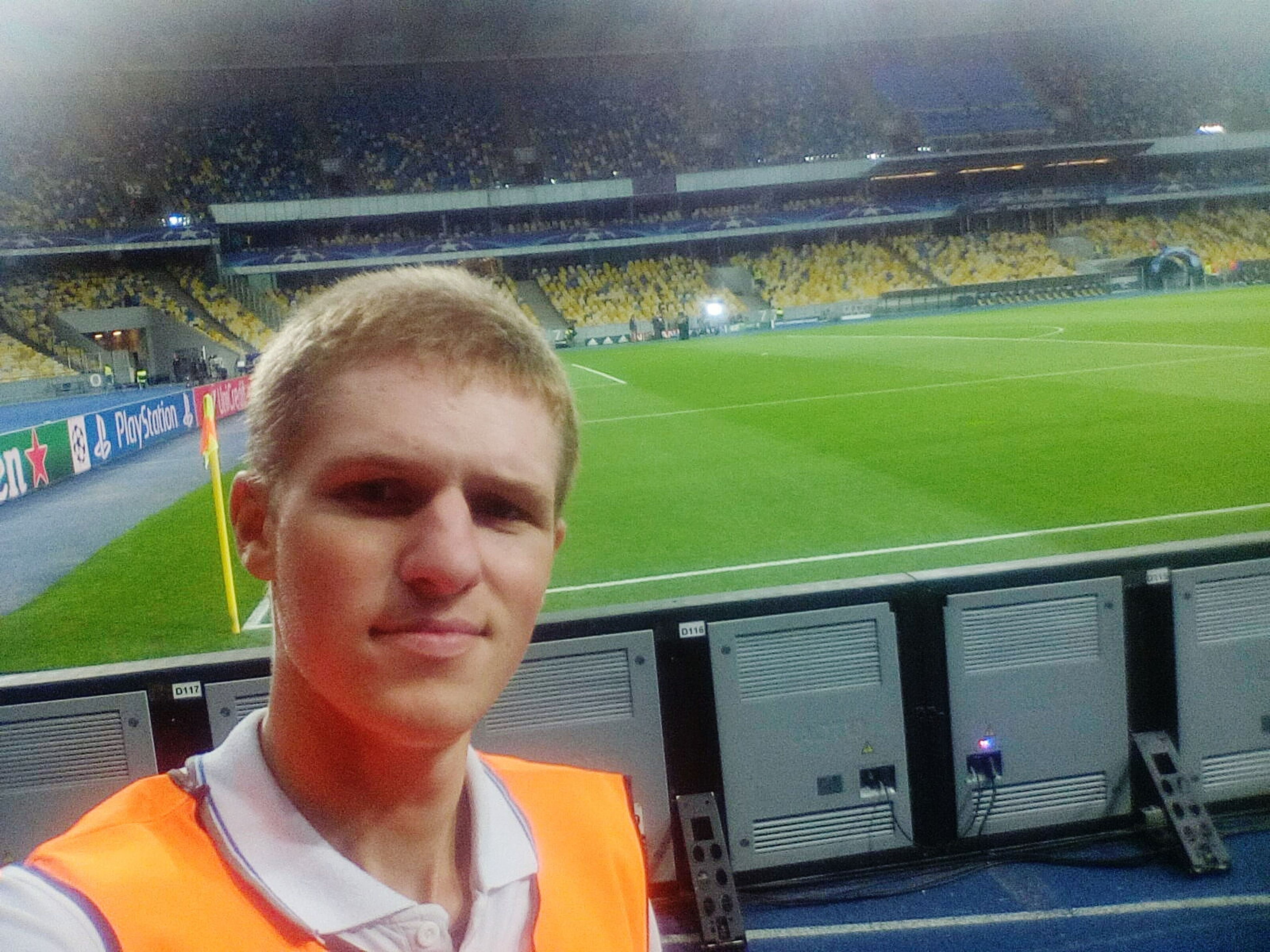 Stewarding  Nsk_olimpiyskiy Dynamo Napoli Match Football