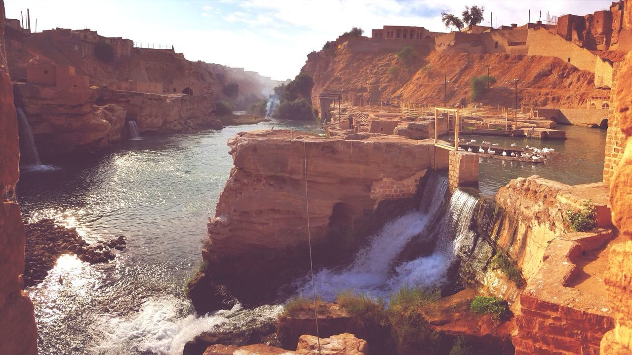 The ancient watermills in Shushtar Traveling Unesco World Heritage Site