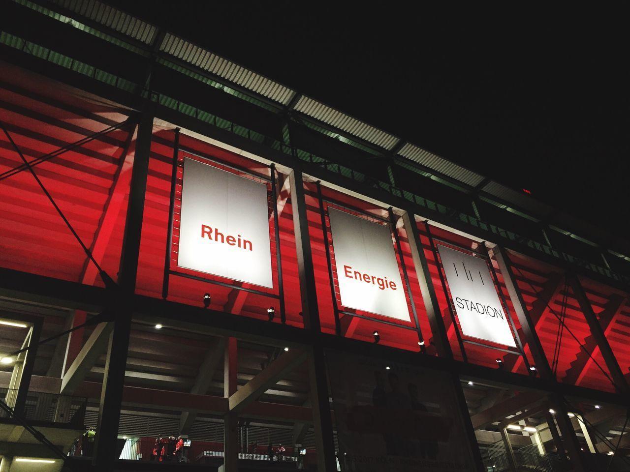 Cologne Effzeh Football Soccer Stadium Germany Red