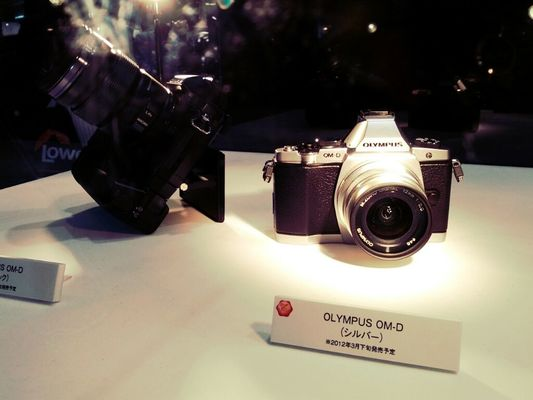 Taking Photos at CP+2012 by Tomoya Hosono