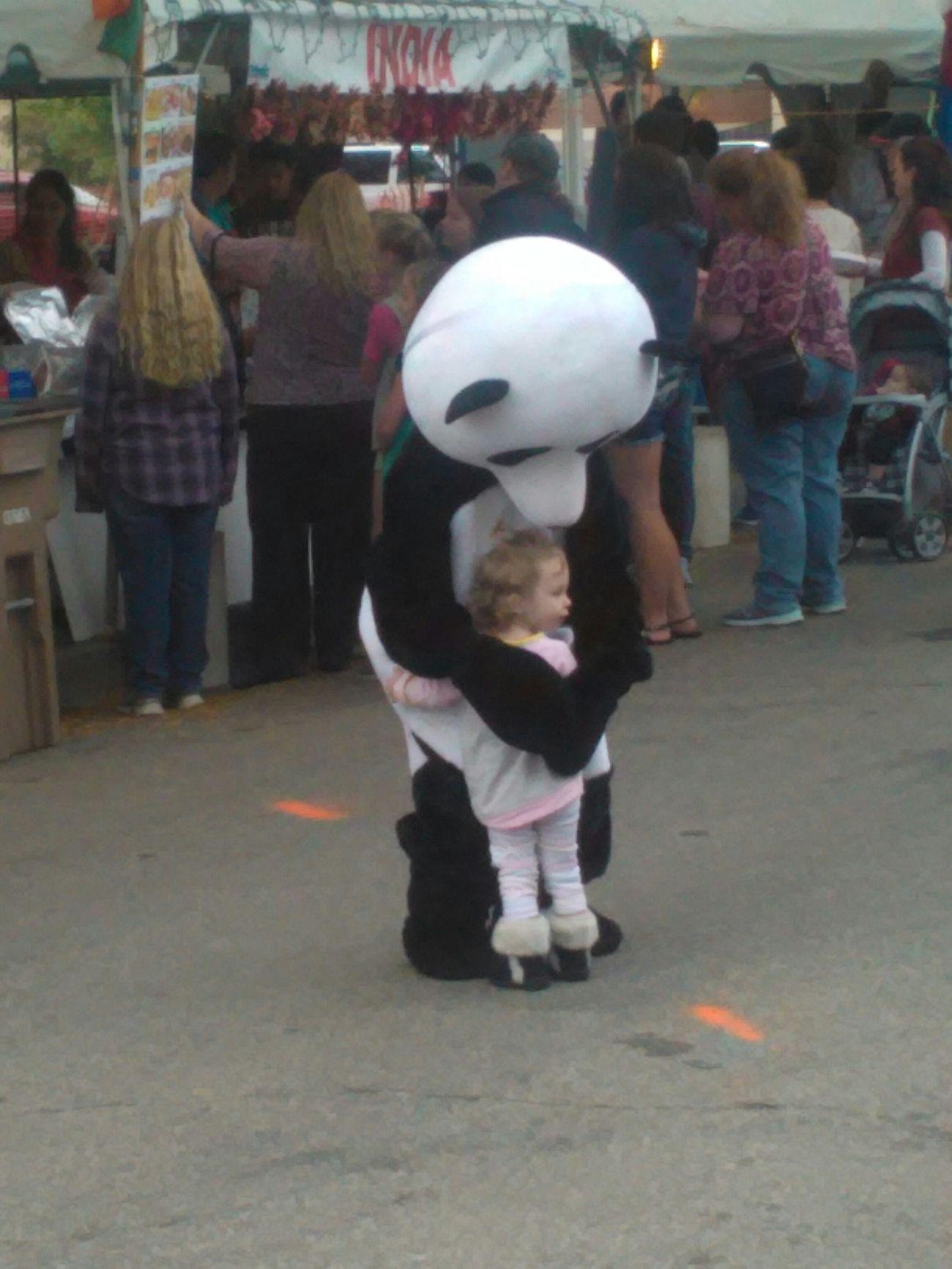PANDA ♡♡ Panda Love Happy Kid! Ethnic Expo Taking Photos
