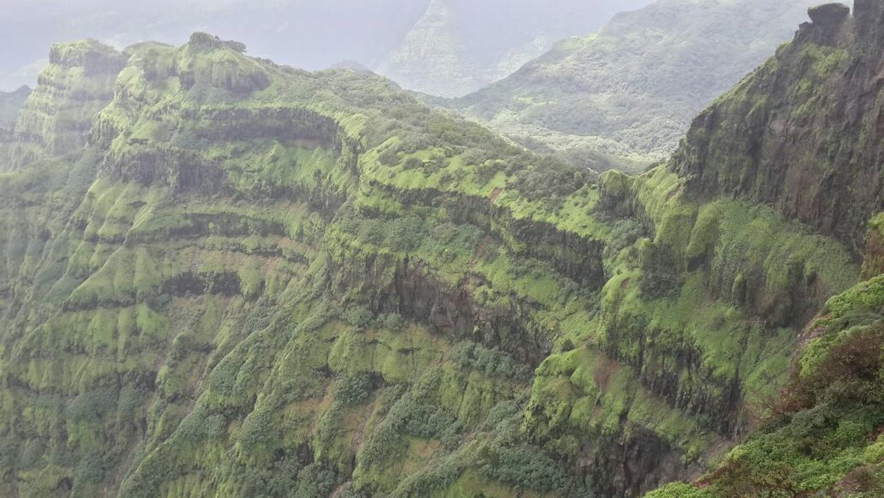 Beautiful mahabaleshwar Tranquil Scene Scenics Mountain Beauty In Nature Tranquility Non-urban Scene Landscape Nature Remote Forest Idyllic Green Color Solitude Outdoors Valley Majestic Mountain Range Day Sky Physical Geography