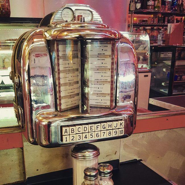 Diner Jukebox GoldenTower First Eyeem Photo