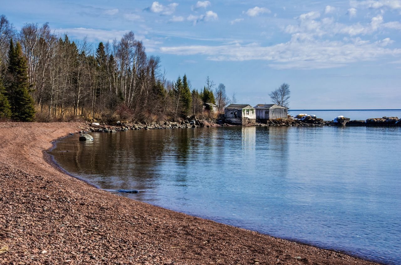 Fishing history on Lake Superior Water Tree Nature Outdoors Sky Waterfront Day No People Scenics Beauty In Nature Architecture Streamzoofamily Lake Superior Malephotographerofthemonth Fishing