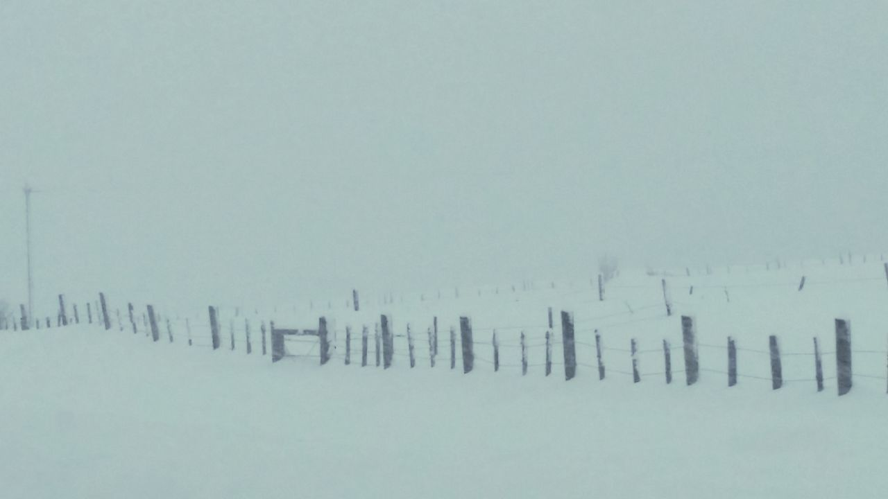 Snow ❄ Travel Photography Road Trip Fenceline Snow Covered Outdoor Photography Beautiful Nature Drivingshots Snowflake ❄