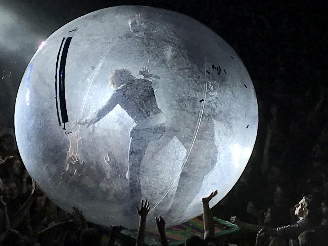 Flaming Lips 👄 Music The Ball The Rave Bands Close-up Concert Major Tom Milwaukee, Wisconsin Theatrics Wayne Coyne