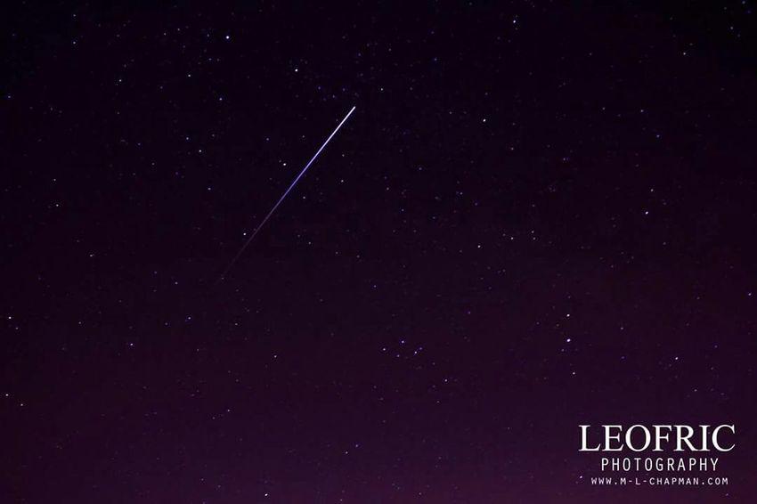 Perseid Meteor Shower Hertfordshire Nightsky by Matt Leofric chapman