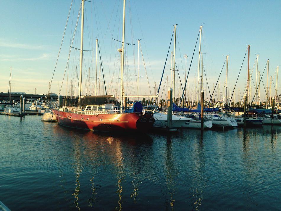 Sunset on the Marina. Sunset First Eyeem Photo