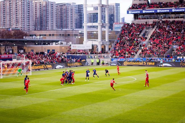 Football Fever Giovinco Stadium City Toronto MLS Fans Toronto FC