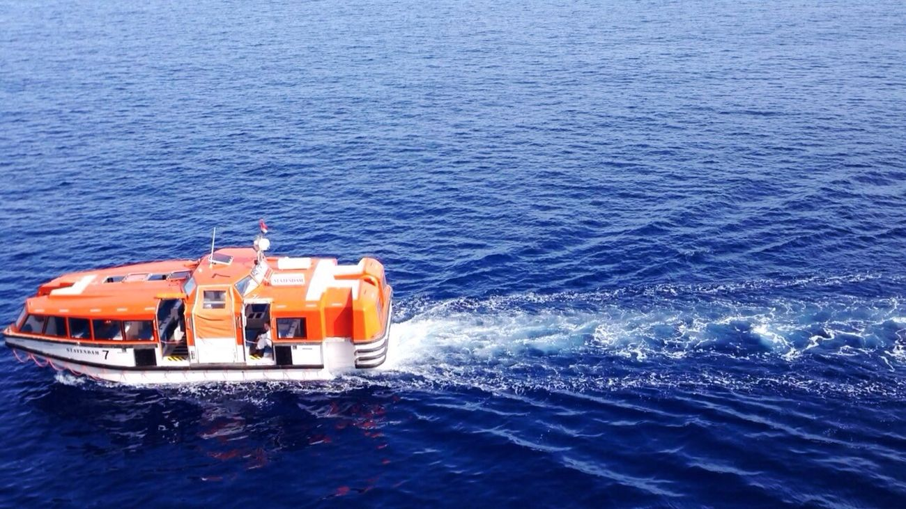 Nautical Cruise Lifeboat Orange IPhone5