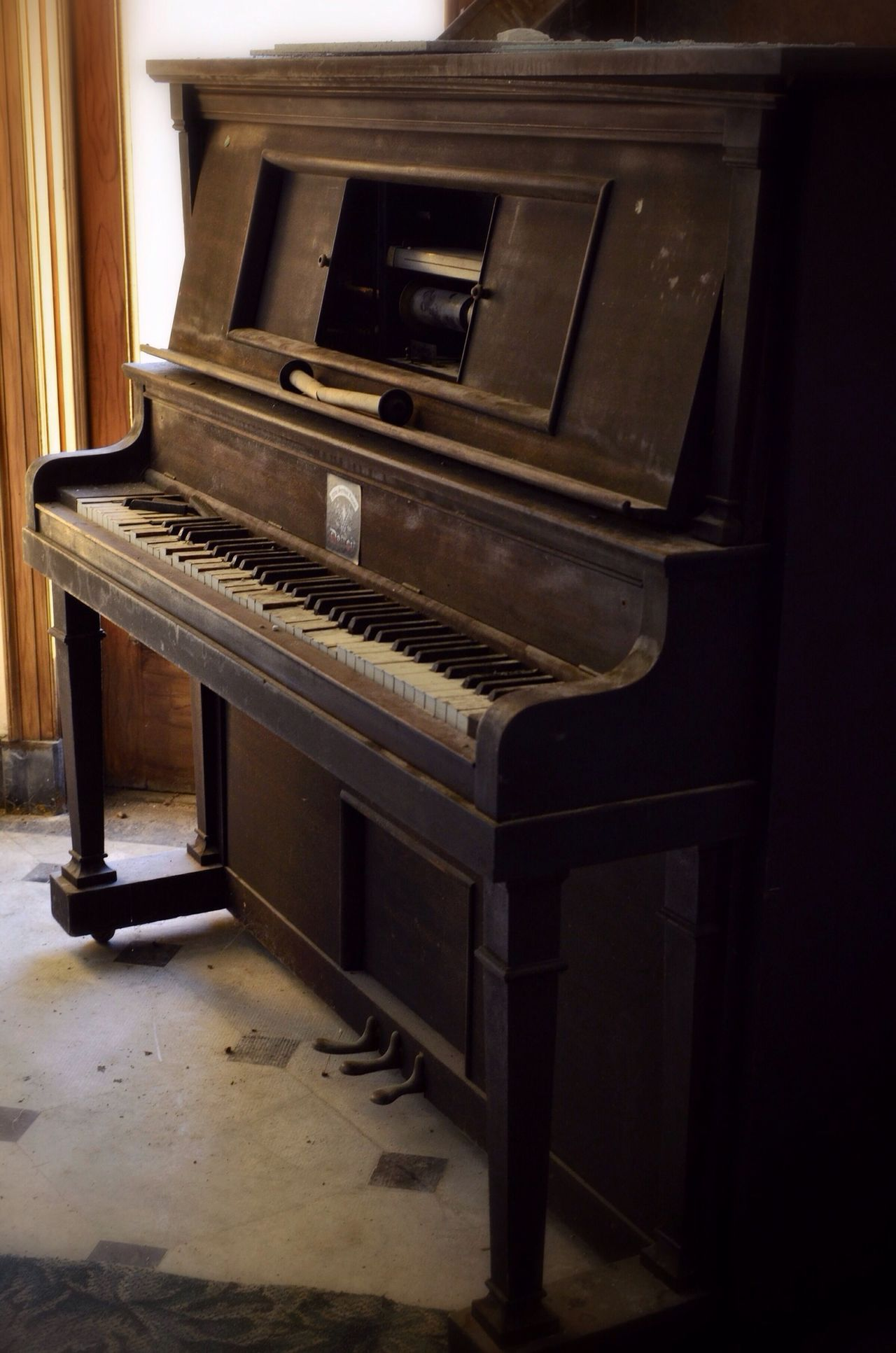 Piano Abandoned NEM Derelict Beauty Of Decay
