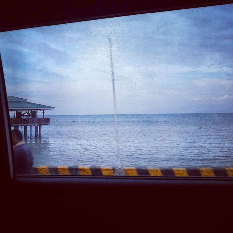 Sea View when we passed by Opol. Chuy Opol Sea