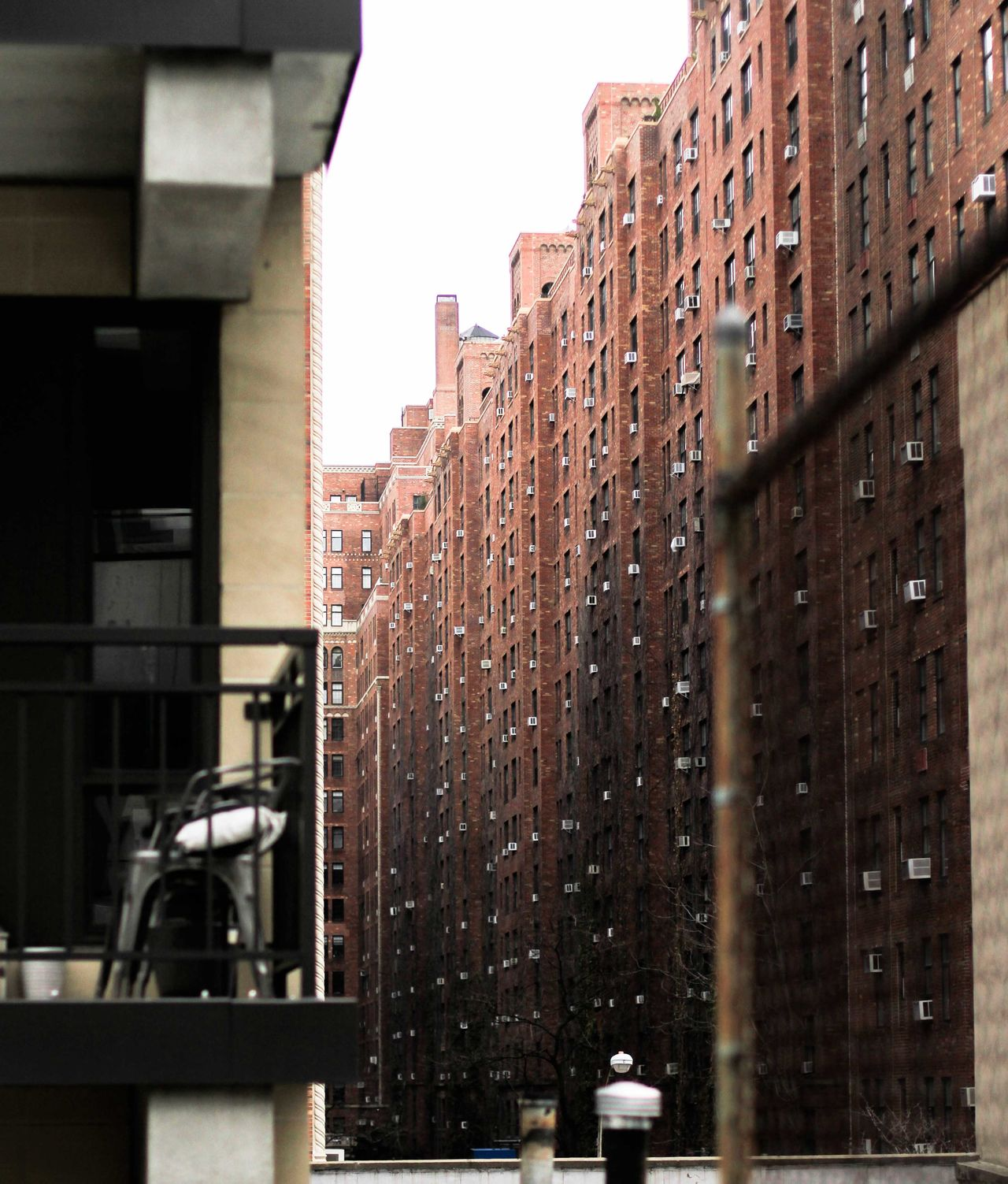 Architecture Building Exterior Built Structure City Day High Line Park No People Outdoors Pattern Sky Symmetry