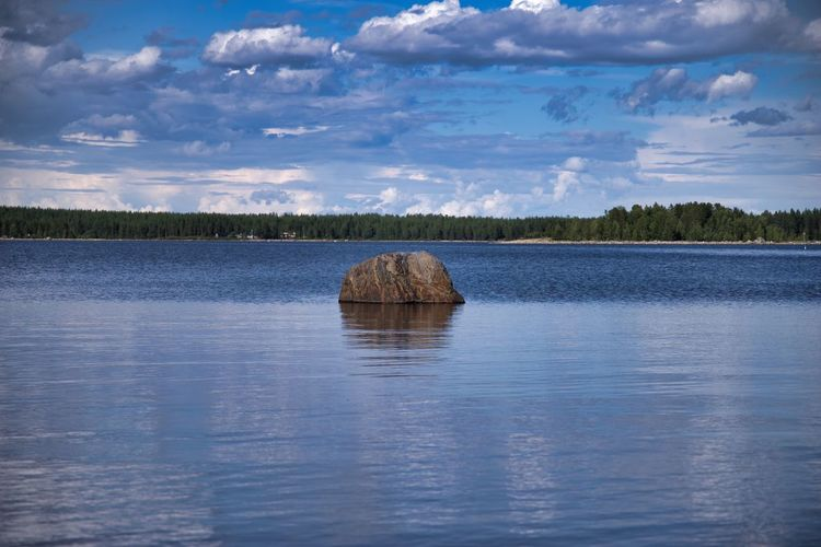 Stonewaves 😀🌊 Cloud - Sky Sky Tranquility Water Nature Scenics Beauty In Nature Tranquil Scene No People Lake Waterfront Outdoors Day Landscape Tree PENTAX K-1