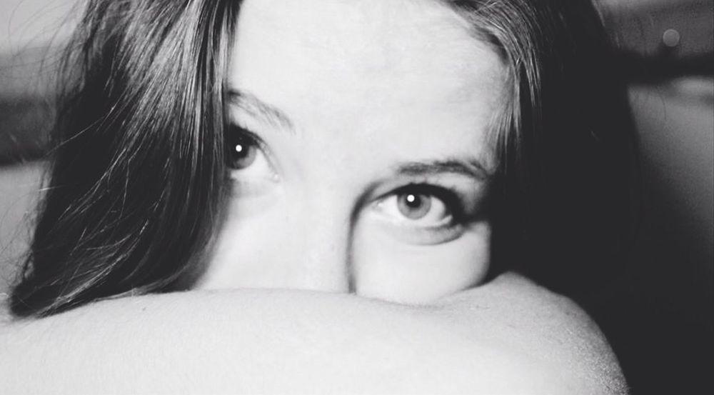 Selfportrait Photography Girl Monochrome