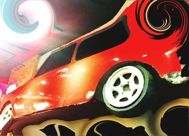 Envision The Future Cars Red Iphone6plus Showcase May Shootermag Abstractions In Colors Human Meets Technology