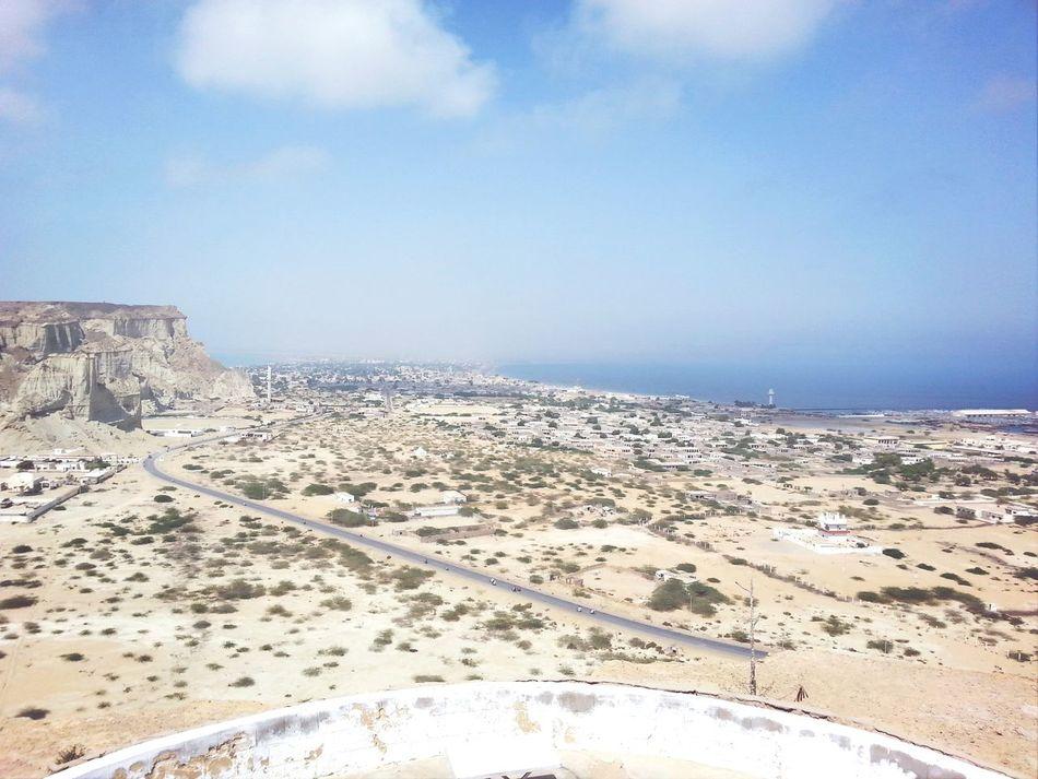 Koh e batil view of Gwadar
