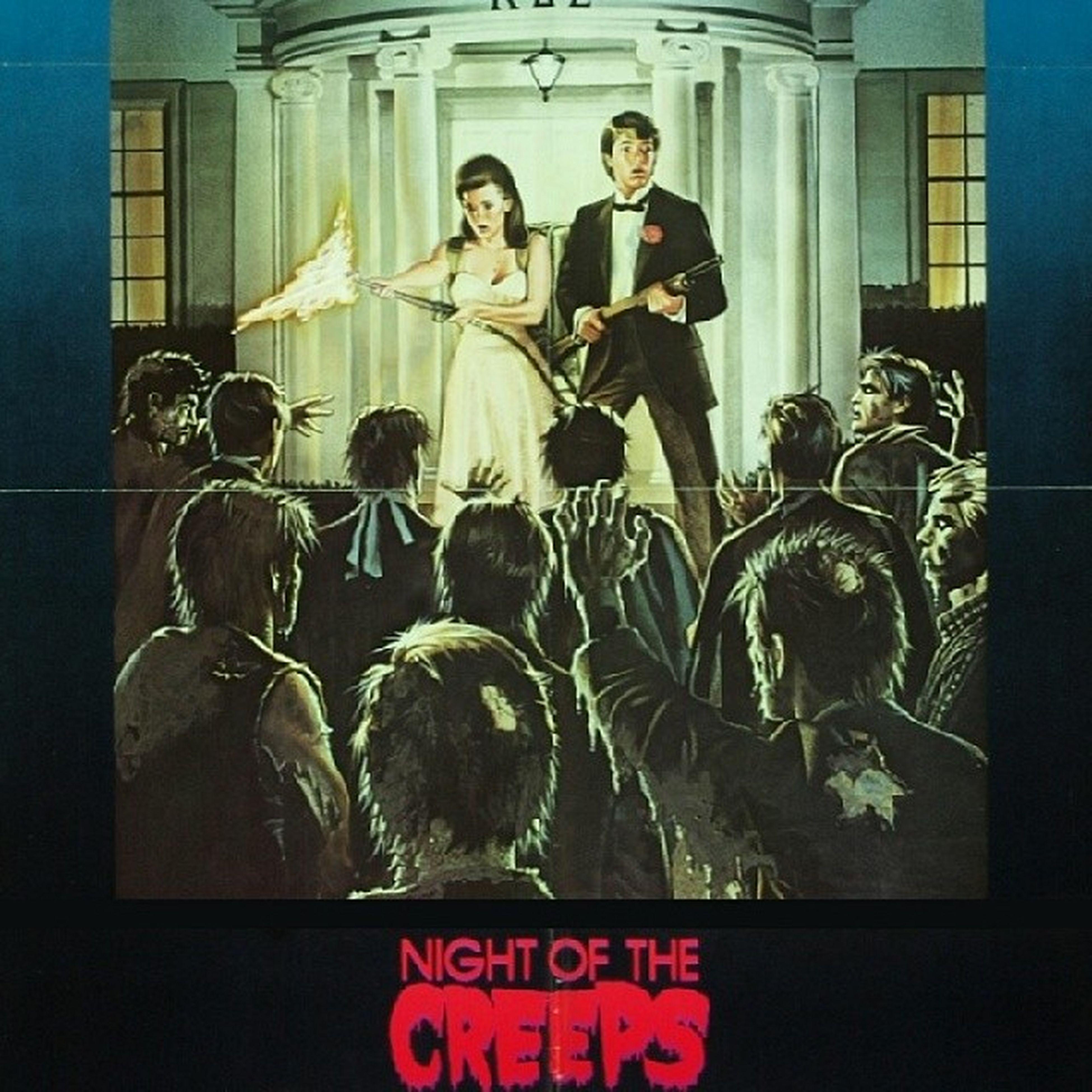 Night of the Creeps is next. Wishihadsomepizza
