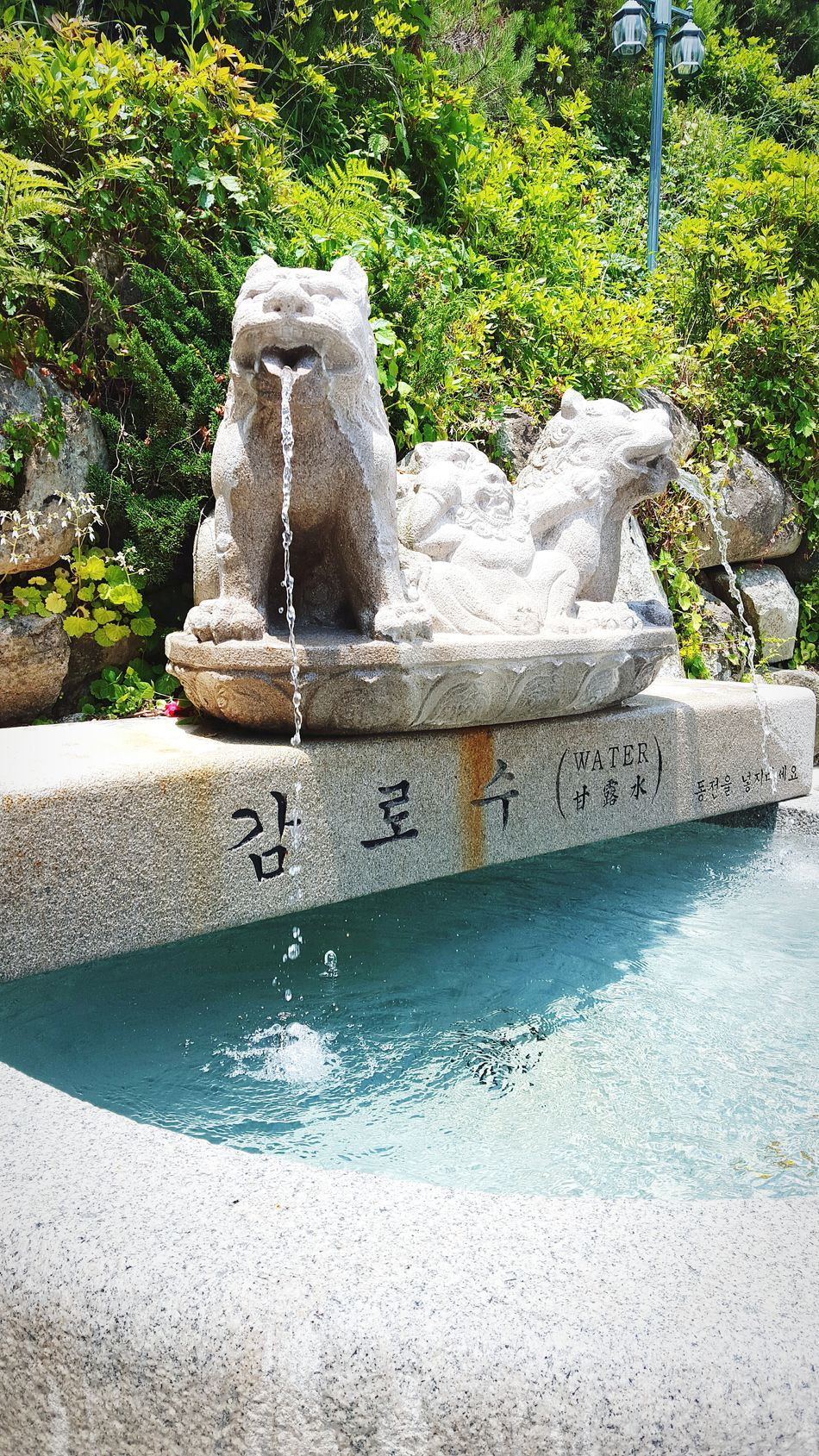 Gyeongju 경주 Seokguram 석굴암 Drinking Fountain
