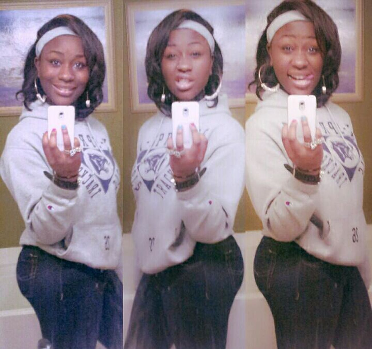 Bum day today....so don't judge, cause u not perfect lol:) IDK Cy Springs Bummmm TrackNation?