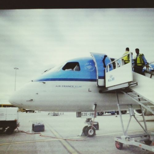 Airport Waiting AirPlane ✈ Travel Photography Men At Work