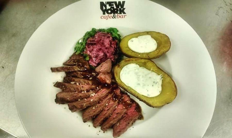 Flank Steak  , Potatoes At Work
