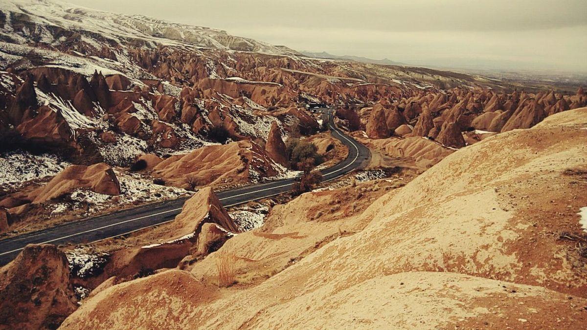 Cappadocia/Turkey Blue Sky Sky Beauty In Nature Nature Cappadociasunrise Cappadoccia