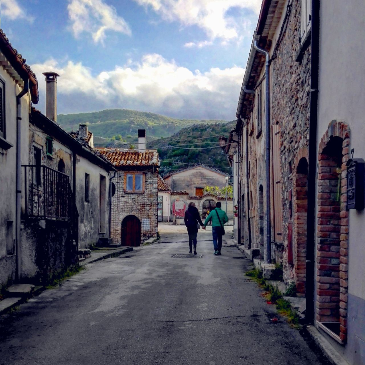 Civita di Bojano (Campobasso, Italy) Adult People Cloud - Sky Sky Outdoors Real People Couple Couple - Relationship Relationship Love People People And Places Walking Walking Hand In Hand Hand In Hand Landscape Village Green Molise Civita Di Bojano Trees Trees And Sky Lovephotography  Lovers Tranquility The Great Outdoors - 2017 EyeEm Awards The Street Photographer - 2017 EyeEm Awards