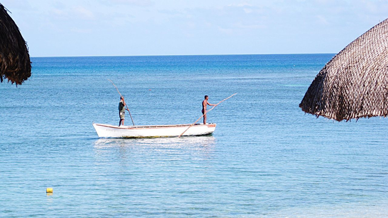 Meridian Local Fisherman Catch Of The Day Horizon Over Water Real People Real Life Captured Moment Simple Living