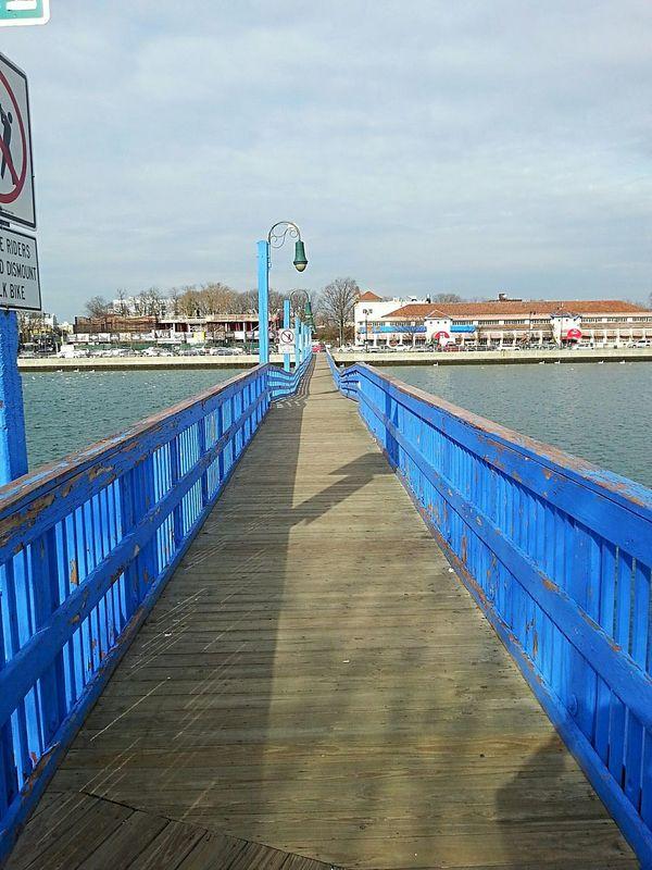 Ocean Avenue Bridge Relaxing Bridges Footbridge Sheepshead Bay