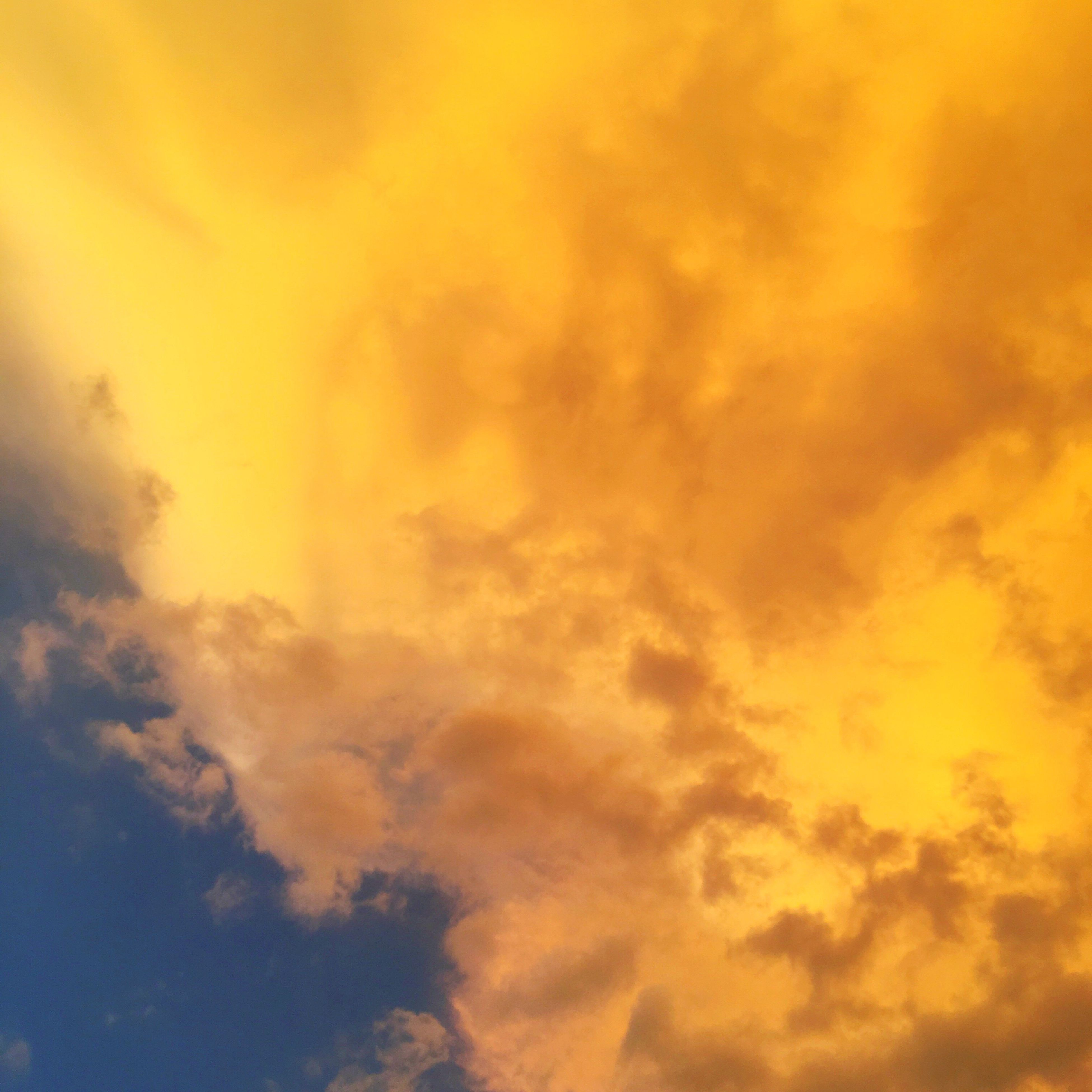 beauty in nature, nature, low angle view, sky, cloud - sky, dramatic sky, scenics, no people, majestic, sky only, tranquility, cloudscape, weather, tranquil scene, sunset, outdoors, environment, idyllic, backgrounds, day, tree