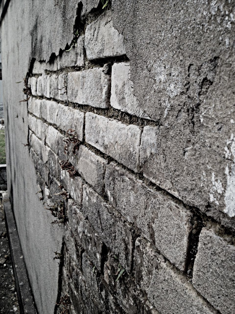 Brick Wall Of Building