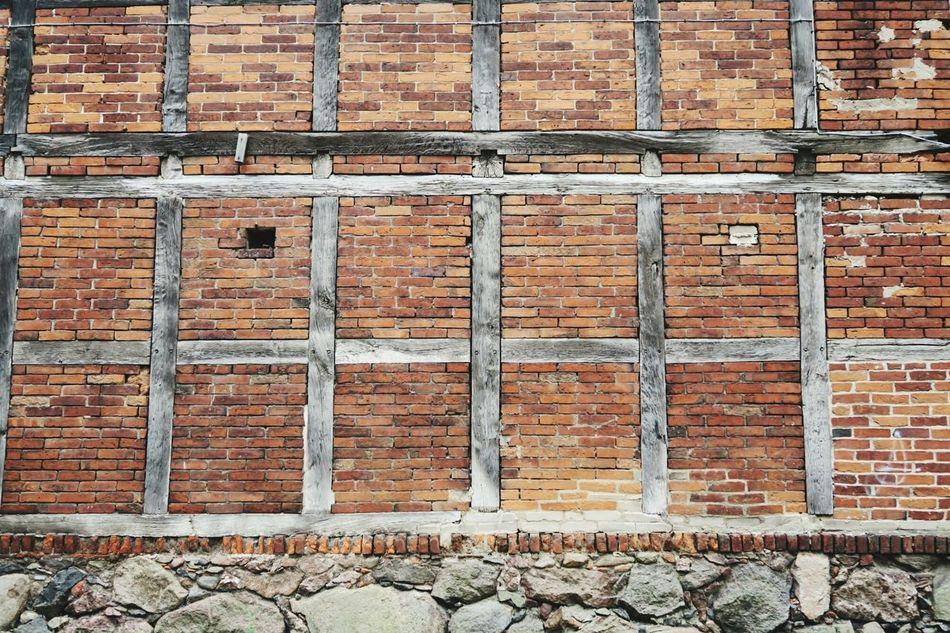half-timbered house made of brickstones and field stone base. Brick Background Brick Wall Brickstones Brickporn Brickswork Brick Background Bricks Halftimbered Half-timbered Houses Half-timbered Half-timbered House Field Stone Field Stones Fassade